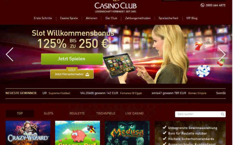 Casino Club Kalender